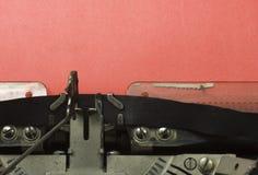 στενή γραφομηχανή επάνω Στοκ εικόνες με δικαίωμα ελεύθερης χρήσης