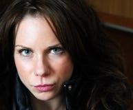 στενή θηλυκή εικόνα επάνω Στοκ φωτογραφία με δικαίωμα ελεύθερης χρήσης