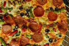 στενή ιταλική προτίμηση πιτσών επάνω Στοκ φωτογραφίες με δικαίωμα ελεύθερης χρήσης