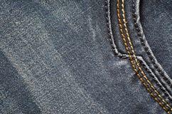 στενή καλυμμένη τζιν σύσταση επάνω Στοκ φωτογραφία με δικαίωμα ελεύθερης χρήσης