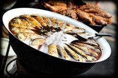 στενή καλυμμένη ψάρια σούπα επάνω Στοκ Φωτογραφίες