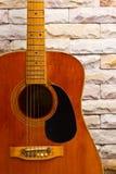 στενή κιθάρα επάνω στον τρύγο Στοκ φωτογραφία με δικαίωμα ελεύθερης χρήσης