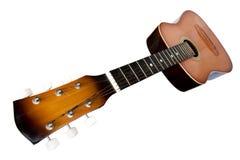 στενή κιθάρα επάνω Στοκ εικόνα με δικαίωμα ελεύθερης χρήσης