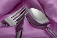 στενή κουταλιά μαχαιριών &del Στοκ Εικόνα