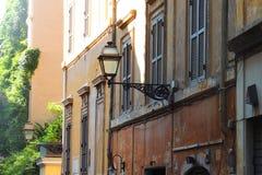 στενή οδός της Ρώμης Στοκ Εικόνες