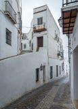 Στενή οδός Arcos de στο Λα Frontera κοντά στο Καντίζ Ισπανία Στοκ φωτογραφία με δικαίωμα ελεύθερης χρήσης