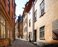 στενή οδός Στοκ Φωτογραφία