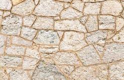 στενή πέτρα επάνω στον τοίχο Στοκ Εικόνες