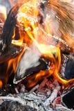 στενή πυρκαγιά επάνω Στοκ φωτογραφία με δικαίωμα ελεύθερης χρήσης