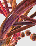 στενή συμβολοσειρά DNA επάν Στοκ Εικόνες