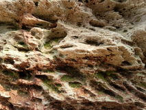 στενή σύσταση πετρών λεπτομέρειας ανασκόπησης αρχιτεκτονικής επάνω Στοκ Φωτογραφία