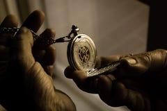 στενή τσέπη επάνω στο ρολόι Στοκ Εικόνες