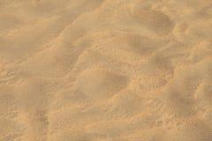 στενή χρυσή άμμος επάνω Στοκ Εικόνα