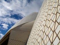 στενή όπερα Σύδνεϋ σπιτιών επάνω Στοκ Φωτογραφία