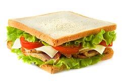 στενή dof τροφίμων εικόνας σειρά σάντουιτς παλιοπραγμάτων χαμηλή επάνω Στοκ Εικόνες