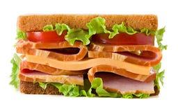 στενή dof τροφίμων εικόνας σειρά σάντουιτς παλιοπραγμάτων χαμηλή επάνω Στοκ Φωτογραφία