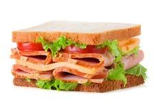 στενή dof τροφίμων εικόνας σειρά σάντουιτς παλιοπραγμάτων χαμηλή επάνω Στοκ φωτογραφία με δικαίωμα ελεύθερης χρήσης