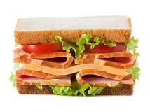 στενή dof τροφίμων εικόνας σειρά σάντουιτς παλιοπραγμάτων χαμηλή επάνω Στοκ Εικόνα
