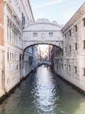 στεναγμοί Βενετία γεφυρών Στοκ φωτογραφίες με δικαίωμα ελεύθερης χρήσης