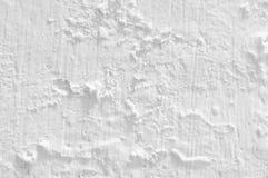 Στενοχωρημένη ασπρισμένη σύσταση τοίχων Στοκ εικόνες με δικαίωμα ελεύθερης χρήσης