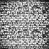 Στενοχωρημένος τουβλότοιχος στην πόλη Στοκ Εικόνα