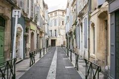 Στενωπός σε Arles, νότια Γαλλία Στοκ φωτογραφία με δικαίωμα ελεύθερης χρήσης