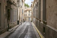 Στενωπός σε Arles, νότια Γαλλία Στοκ Εικόνα