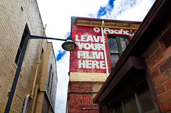 Στενωπός σε Katoomba, μπλε βουνά, Αυστραλία Στοκ φωτογραφίες με δικαίωμα ελεύθερης χρήσης