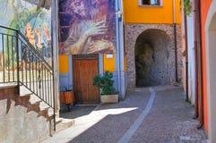 στενωπών Satriano Di Lucania Ιταλία Στοκ Εικόνες