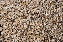 Στενός επάνω αμμοχάλικου και χαλικιών Στοκ Εικόνα