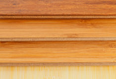 Στενός επάνω δαπέδων μπαμπού φυλλόμορφος Στοκ Εικόνες