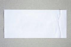 Στενός επάνω εγγράφου ετικετών αυτοκόλλητων ετικεττών Στοκ φωτογραφία με δικαίωμα ελεύθερης χρήσης