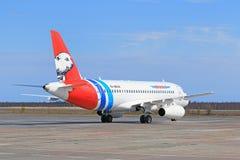 Στενός επάνω επιβατών αεροπλάνου Στοκ φωτογραφίες με δικαίωμα ελεύθερης χρήσης