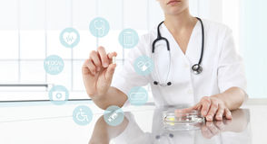 Στενός επάνω ιατρικής χαπιών εκμετάλλευσης γιατρών Υγειονομική περίθαλψη και ιατρικό ι Στοκ Εικόνες