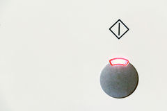 Στενός επάνω κουμπιών δύναμης στοκ φωτογραφία με δικαίωμα ελεύθερης χρήσης