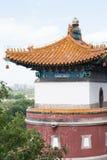 Στενός επάνω ναών παραδοσιακού κινέζικου Στοκ Φωτογραφία