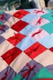 Στενός επάνω παπλωμάτων Amish της κορυφής Στοκ Εικόνα