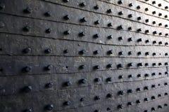 Στενός επάνω πυλών φρουρίων Στοκ Εικόνες