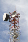 Στενός επάνω πόλων τηλεφωνικών σημάτων Στοκ εικόνες με δικαίωμα ελεύθερης χρήσης