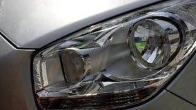 Στενός επάνω πλυσίματος αυτοκινήτων απόθεμα βίντεο