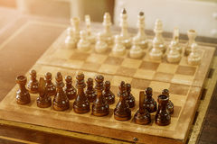 στενός επάνω σκακιού χαρτ&o στοκ φωτογραφίες με δικαίωμα ελεύθερης χρήσης