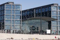 Στενός επάνω σταθμών του Βερολίνου Reilway Στοκ φωτογραφία με δικαίωμα ελεύθερης χρήσης