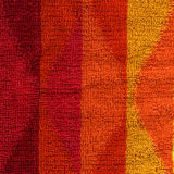 Σύσταση υφασμάτων πετσετών - ροζ, κόκκινο, πορτοκάλι & κίτρινος Στοκ Φωτογραφίες