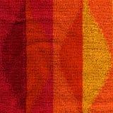 Σύσταση υφασμάτων πετσετών - ροζ, κόκκινο, πορτοκάλι & κίτρινος Στοκ Εικόνες
