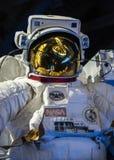 Στενός επάνω φορμών αστροναύτη Στοκ Εικόνες