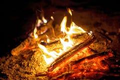 στενός επάνω φωτιών στοκ φωτογραφία με δικαίωμα ελεύθερης χρήσης