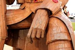 Στενός επάνω χεριών χάλυβα Στοκ φωτογραφία με δικαίωμα ελεύθερης χρήσης