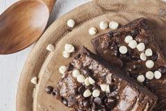Στενός επάνω Brownies Στοκ Φωτογραφία