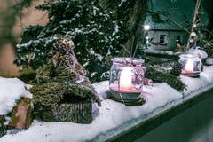 στενός κόκκινος χρόνος Χριστουγέννων ανασκόπησης επάνω Στοκ εικόνες με δικαίωμα ελεύθερης χρήσης