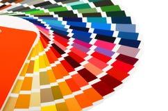 στενός οδηγός χρώματος καρτών επάνω Στοκ Εικόνα